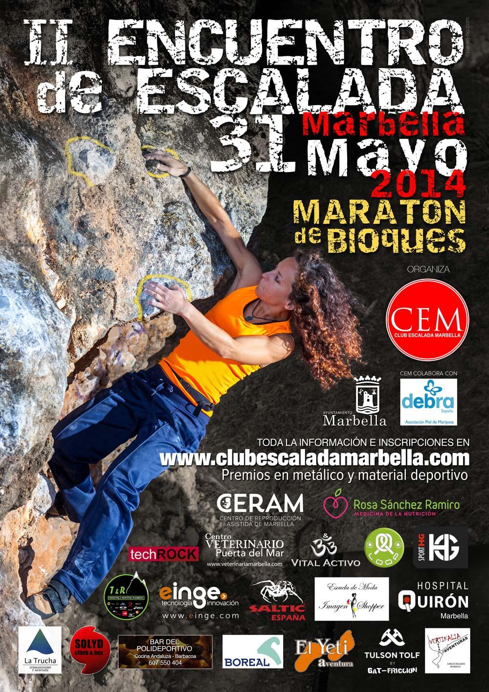 II Encuentro Escalada Marbella 2014