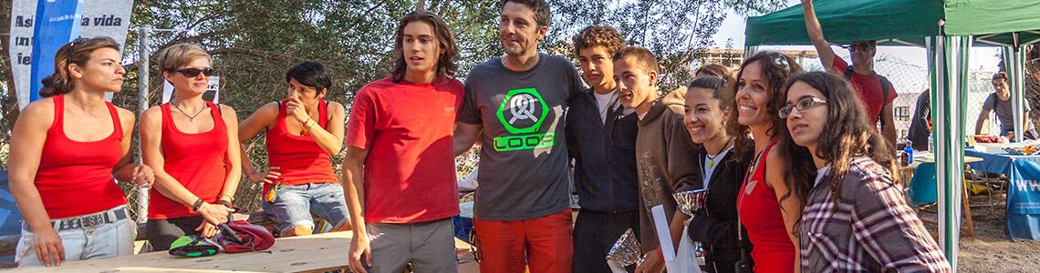 Finalistas Categoría Juvenil II Encuentro de Escalada Marbella 2014