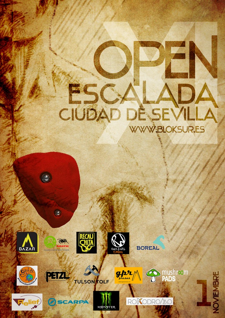 Equipo Competicion CEM en Open Escalada Ciudad de Sevilla 2014