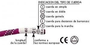 Todo lo que necesitas saber de las cuerdas de escalada (Fabricación, conservación, tipología…)