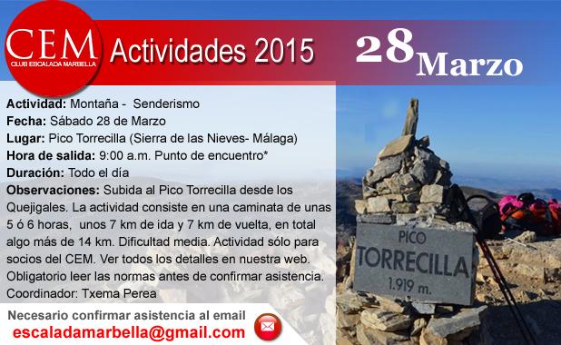 Actividad CEM 28 Marzo