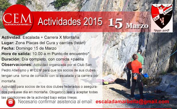 Actividad Escalada y Running 2015