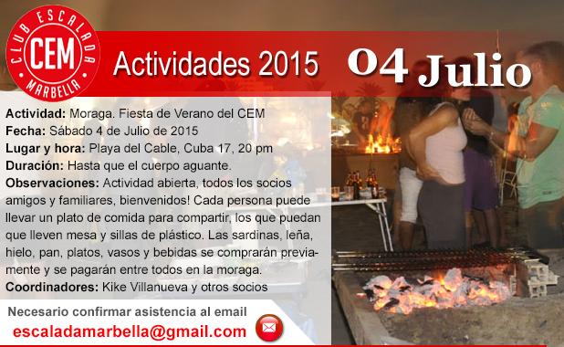 Actividad CEM 04 de Julio Moraga