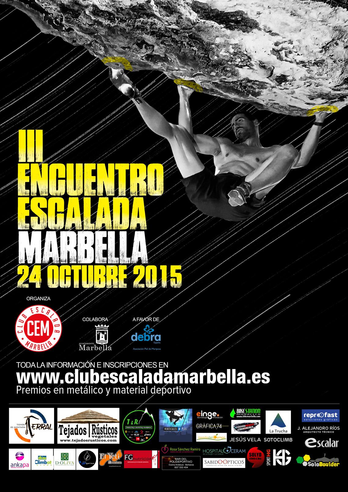 III Encuentro Escalada Marbella 2015