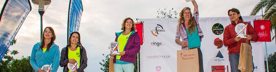 Clasificación Absoluta Femenina III Encuentro de Escalada Marbella 2015