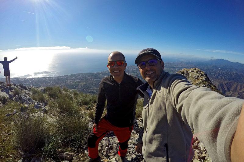 Subida a la Concha de Sierra Blanca - Málaga 1216 metros