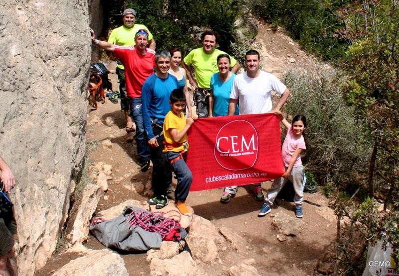 Crónica y fotos – Actividad CEM – Escalada deportiva en Pinares de San Antón - Málaga
