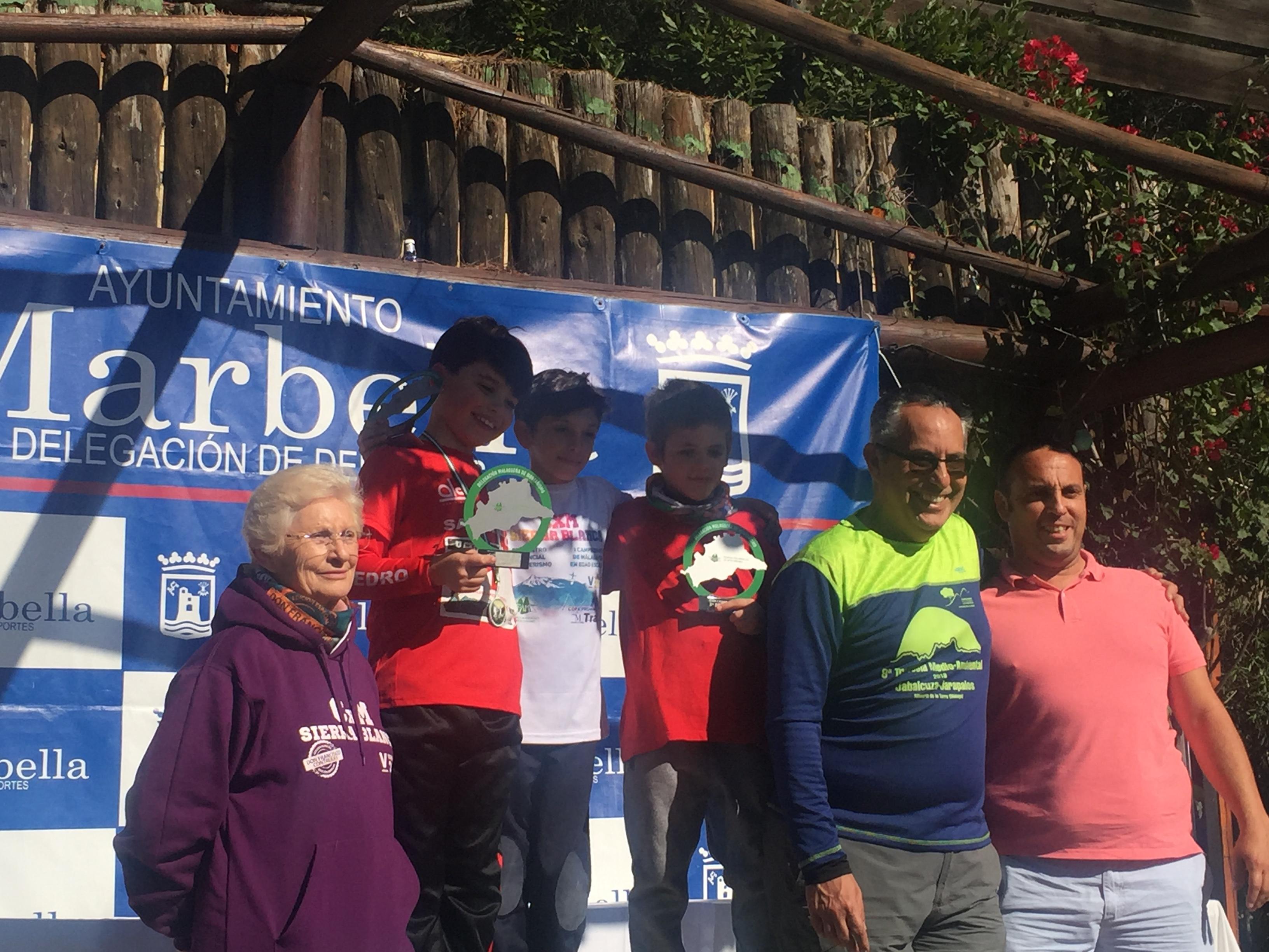 Marco Teves en podio