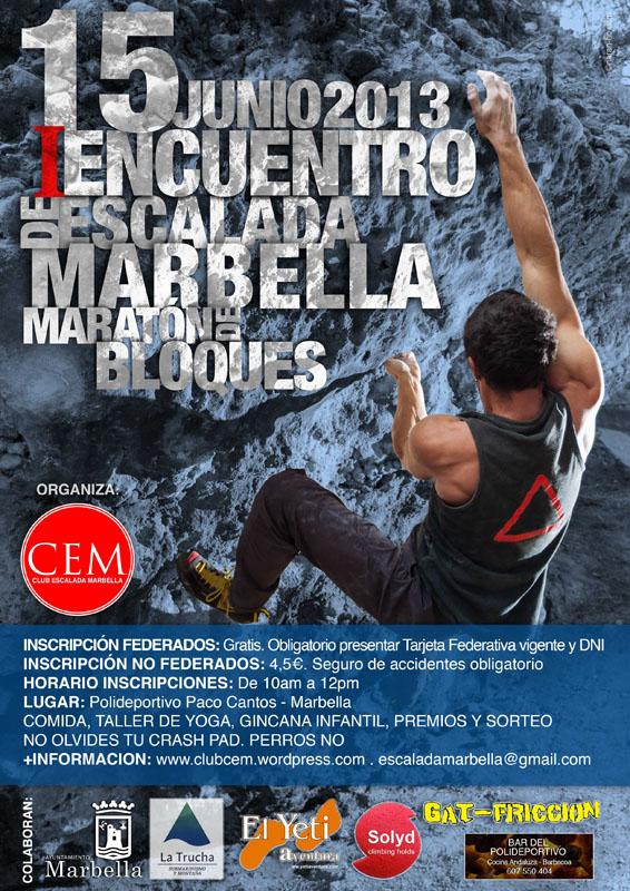 CEM Encuentro Escalada 2013
