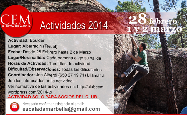 Actividades2014 albarracin semana blanca