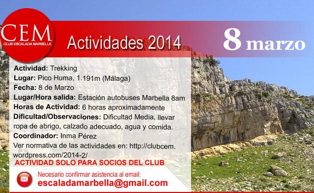 Actividades2014 Pico Huma