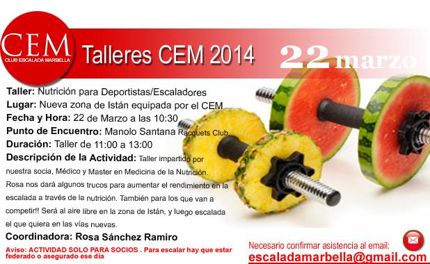 Actividades2014 Taller de Nutrición