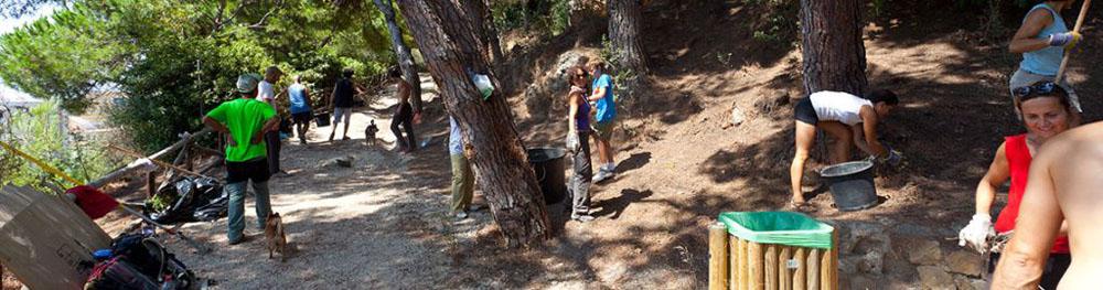 Club Escalada Marbella-Cuidamos el medio ambiente