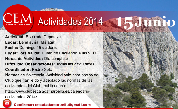 Actividades2014 benalauria