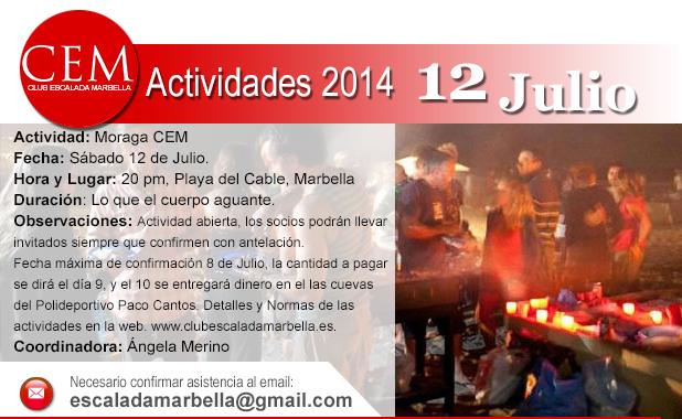 Actividad Moraga CEM