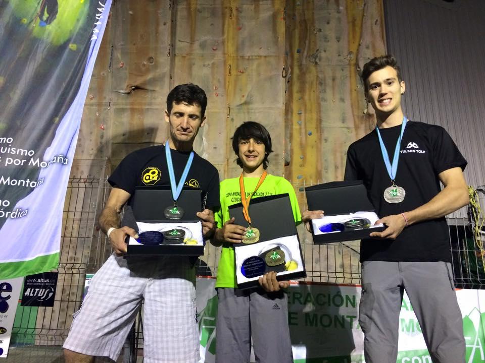 El Equipo CEM campeón y subcampeón en la Copa Andaluza de Escalada de Dificultad 2015