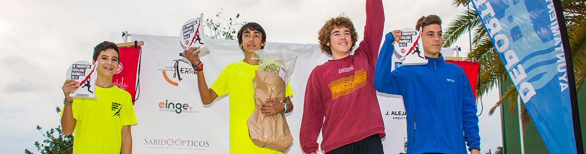 Clasificación Juvenil III Encuentro de Escalada Marbella 2015