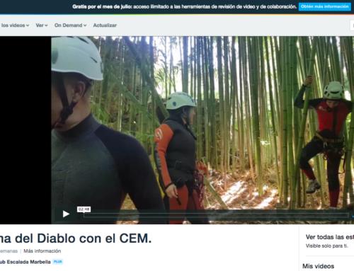 Video Actividad CEM. Sima del Diablo – 16/06/2018